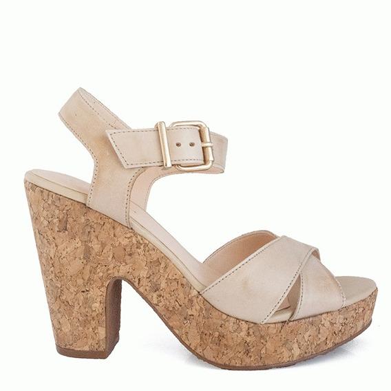 Sandália Em Salto Grosso Sapato Show - 79609152