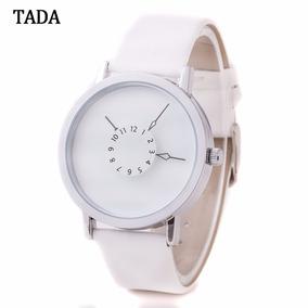 Relógio De Luxo Pulseira De Couro Designer Moderno Tada