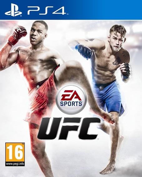 Jogo Novo Lacrado Ea Sports Ufc Para Playstation 4 Ps4