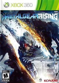 Metal Gear Rising Revengeance Xbox 360 Original Em Português