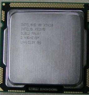 Intel Xeon X3430 8m 2.40ghz Ml120 150 G6 X3200 X3250 M3 T310