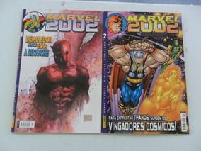 Marvel 2002! Várias! R$ 15,00 Cada! Panini 2002!