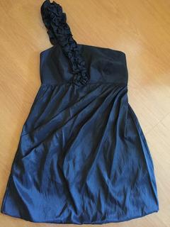 Vestido Tafeta - Tamanho: 42 - Preto. Ultima Peça!!!