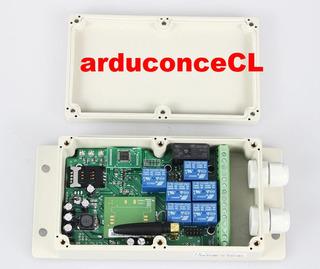 Relay Rele 7 Canales Activados Por Celular Gsm 3g Domotica