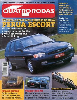 4r.438 Jan97- Carro Elétrico Especial Escort Peu306 Slk Bmwz