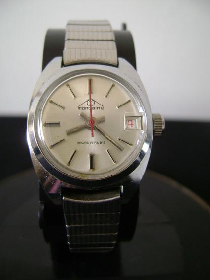 Relógio De Pulso Feminino Corda Mondaine Swiss
