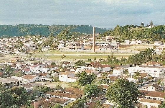 Qne-0560 - Postal Rio Negrinho, S C - Centro Civico