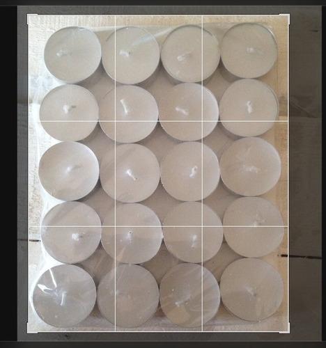 Tealight Velita Paquete.de 100 Piezas Envasé De Aluminio.