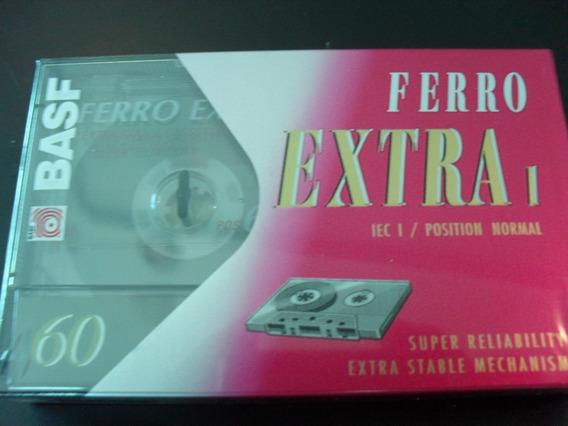 Fita Cassete Virgem Basf C-60 Ferro Extra I Pronta Entrega!