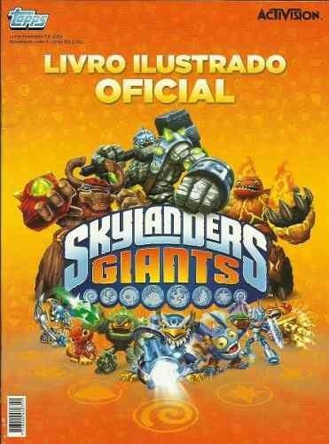 Album De Figurinhas Cards Skylanders Giants Completo