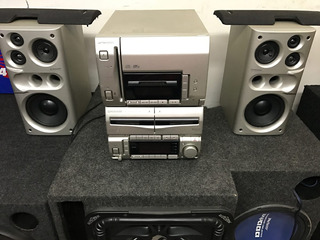 Mini Componente Pioneer 51 Cds Casette Doble Radio
