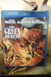 Blu Ray The Green Berets - John Wayne - Import War Movie