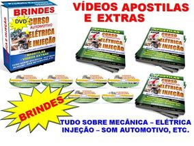 4 Dvds Eletricista Automotivo E Injeção Eletrônica - A53