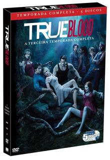 True Blood 3ª Temporada - Box Com 5 Dvds - Anna Paquin