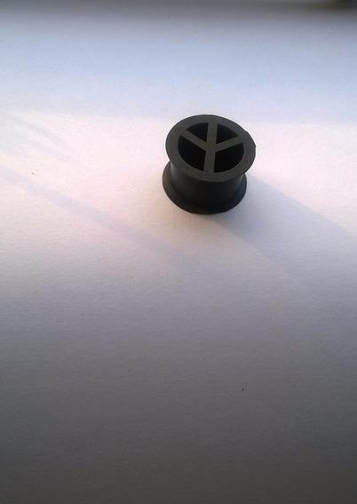 Alargador 18mm Paz E Amor Vazado Preto Novo Lacrado (único)