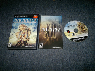 Final Fantasy Xii Completo Para Play Station 2,excelente