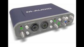 Placa De Audio Fast Trac Pro