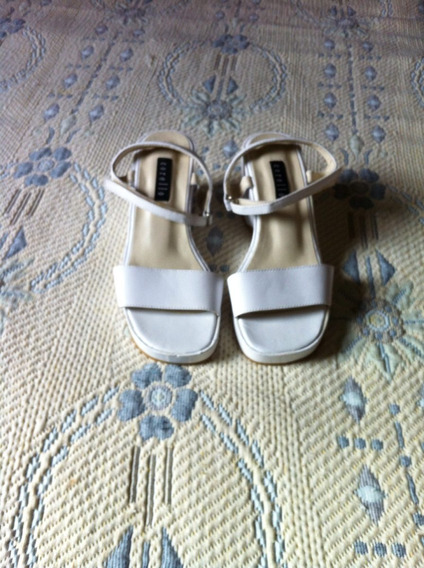 Sandalia Branca Nr.33