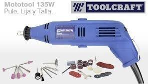 Mototool 1/8 + 40acces Toolcraft  Gratis Envío*