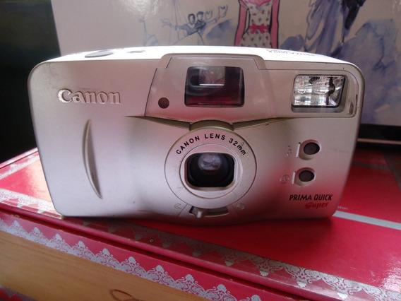 Câmera / Máquina Fotográfica Canon Prima - Analogica