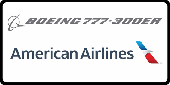 Aeronave Fsx - Frota American Airlines-boeing 777-300er/fsx