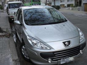 Peugeot 307 Sedan Color Gris Dorado. Unico Dueño. Año 2010