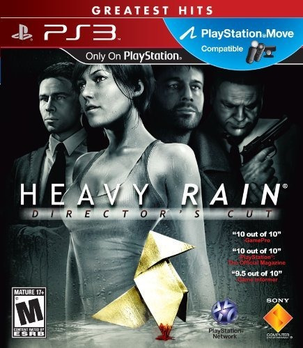 Heavy Rain - Director's Cut - Compatible Ps Move - Ps3