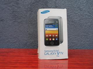 Caja Original Celular Galaxy Young Tv Con Manual Vte Lopez