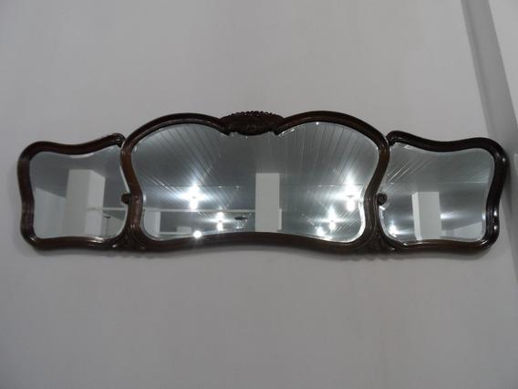 Antigo Espelho Estilo Francês - Grande.
