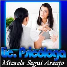 Lic. Psicologa. Primera Consulta Sin Cargo.