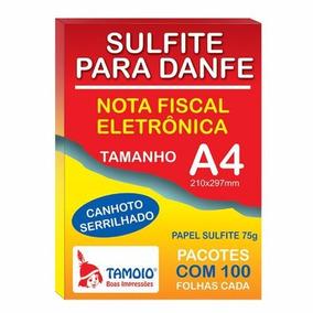 Papel Sulfite Para Danfe