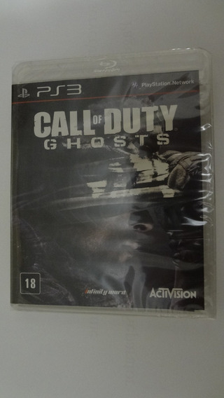 Call Of Duty Ghosts Ps3 Mídia Física - Novo E Lacrado