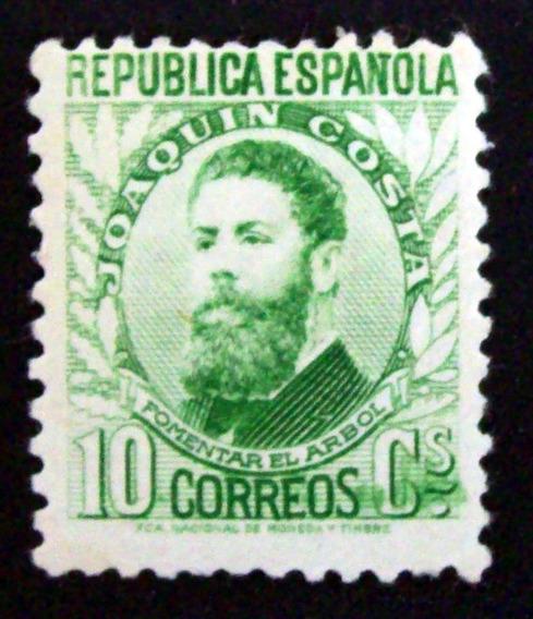 España - Sello Ed. 656 J. Costa 10c. Verde Mint L3372