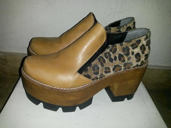 Zapatos Cuero N° 37