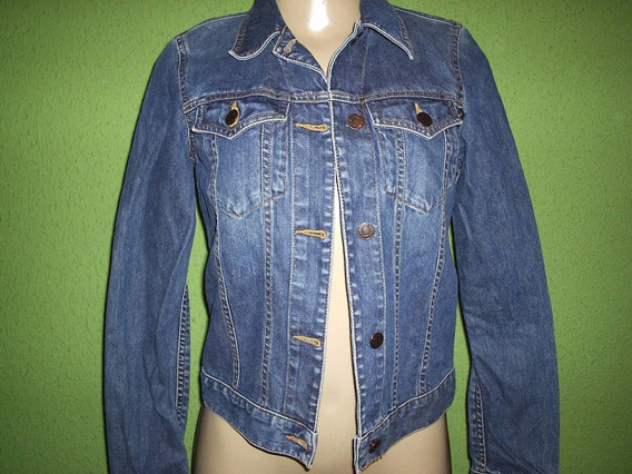 Jaqueta Jeans Abercrombie & Fitch Tamanho P
