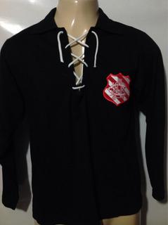 Bangu Rj Camisa De Goleiro Retrô Anos 30 Gola Com Cordão G