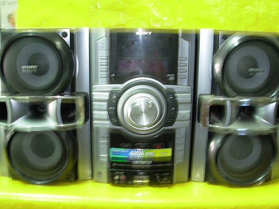 Micro System Sony Hcd-gt-444 - 400w - Rms - Impecavel - Ok.