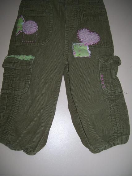 Pantalón Niña Talle 18 Meses De Microcorderoy