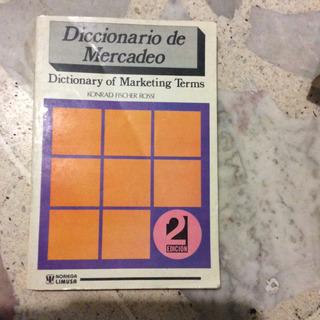 Diccionario De Mercado