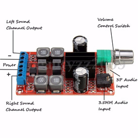 Placa Amplificador De Áudio Tpa3116 25w+25w.