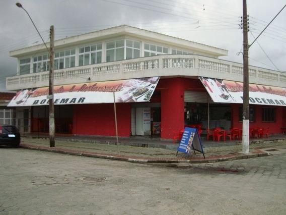 Casa Sobrado Frente Praia + Salão Comercial Esquina Rentável
