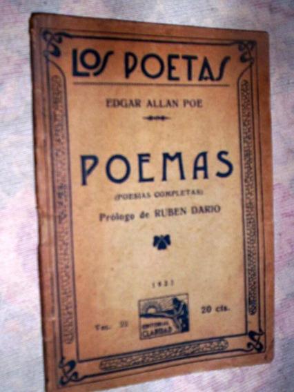 Raro Poemas Edgar Allan Poe 1925 Em Espanhol