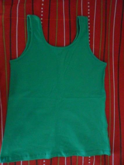 Musculosa Verde Nueva