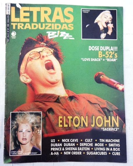 Bizz Letras Traduzidas Nº 7 - Cyndi Lauper - Madonna - A-ha