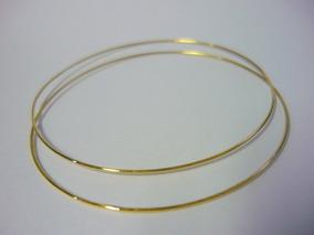 Bracelete Argola 3 Gr Ouro 10k Unid. 1159