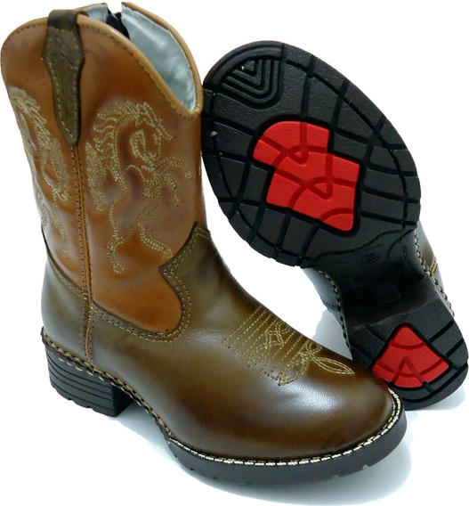 Bota Infantil Kids Country Masculina Texana Rodeio Peao Cour