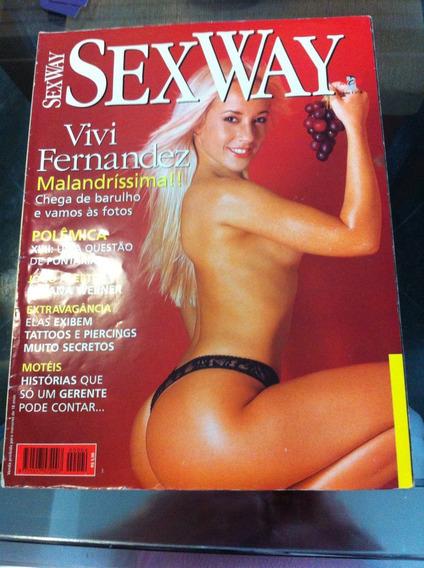 Sexy Way Vivi Fernandes Gata Ousada Em Otimo Estado Linda