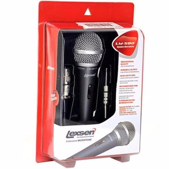 Microfone Dinâmico Cardioide Com Fio