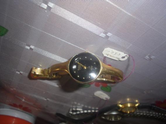 Reloj Dama Armitron Diamond Modelo Now Caratula Negra