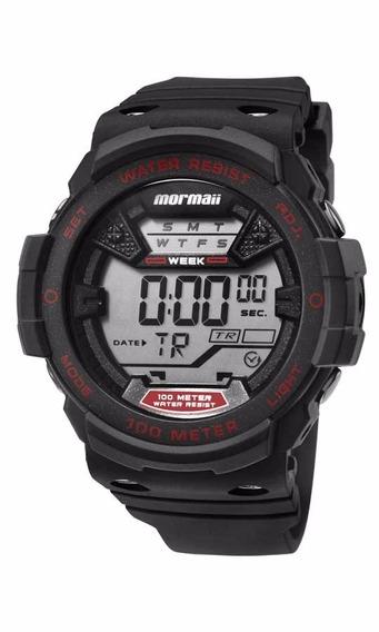 Relógio Mormaii Masculino Wave Mo3500a/8r Vermelho Digital